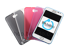 Matted Color Samsung Galaxy Note Soft Back Case