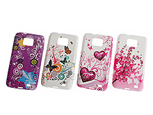 Samsung Galaxy S II Graffiti Art Back Case