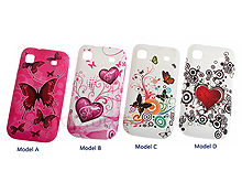 Samsung Galaxy S I9003 Graffiti Art Back Case
