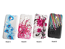 LG Optimus 2X LG-P990 Graffiti Art Back Case