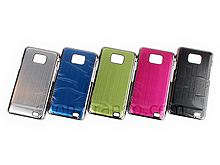 Samsung Galaxy S II Metallic Back Case