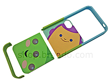 iPhone 4S Cartoon Toy Story - BUZZ and ALIENS Twin-piece Phone Case (Limited Edition)