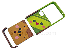iPhone 4S Cartoon Toy Story - Pricklepants and Peas-in-apod Twin-piece Phone Case (Limited Edition)