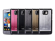 Momax Samsung Galaxy SII METALLIC-like Protective Back Case