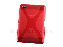 Samsung GT-P6810 Galaxy Tab 7.7 X-Shaped Plastic Back Case