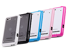 Motorola XT615 Hard-and-Soft Protective Transparent Case