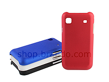 Samsung i9000 Galaxy S Metallic-Like Plastic Back Case