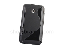 LG Optimus Hub E510 Wave Plastic Back Case