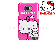 Samsung Galaxy S II Pink Hello Kitty Back Case