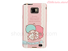 Samsung Galaxy S II Little Twin Stars Dancing Soft Back Case (Limited Edition)