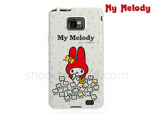 Samsung Galaxy S II My Melody Flower Pattern Soft Back Case (Limited Edition)