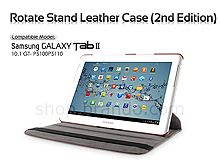 Samsung Galaxy Tab 2 10.1 GT- P5100P5110 Rotate Stand Leather Case (2nd Edition)