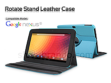 Google Nexus 10 GT-P8110 Rotate Stand Leather Case