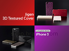 Simplism Jigen 3D Textured Cover for iPhone 5
