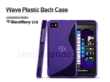 BlackBerry Z10 Wave Plastic Back Case