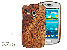 Samsung Galaxy S III Mini I8190 Woody Patterned Back Case