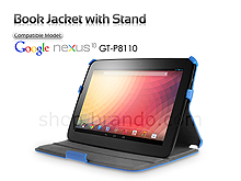Google Nexus 10 GT-P8110 Book Jacket with Stand