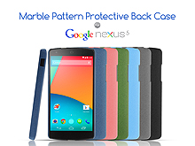 Google Nexus 5 Marble Pattern Protective Back Case