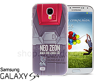 Samsung Galaxy S4 AMX-011 ZAKU III Back Case (Limited Edition)