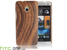 HTC One Mini Woody Patterned Back Case