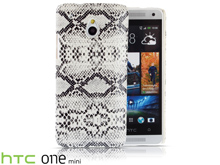 HTC One Mini Faux Snake Skin Back Case
