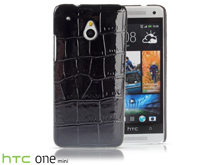 HTC One Mini Crocodile Leather Back Case