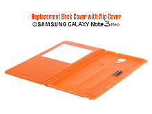 Replacement Back Cover with Flip Cover for Samsung Galaxy Note 3 Neo