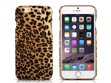 iPhone 6 / 6s Leopard Stripe Suede Case