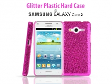 Samsung Galaxy Core 2 Glitter Plactic Hard Case