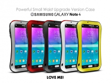 LOVE MEI Samsung Galaxy Note 4 Powerful Small Waist Upgrade Version Case