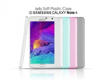Samsung Galaxy Note 4 Jelly Soft Plastic Case
