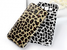 Samsung Galaxy E7 Leopard Stripe Back Case