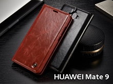 Huawei Mate 9 Magnetic Flip Leather Wallet Case