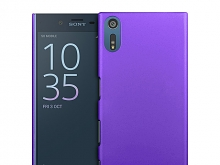 Sony Xperia XZ Rubberized Back Hard Case