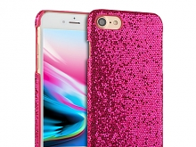 iPhone 8 Glitter Plastic Hard Case