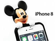 iPhone 8 3D Mickey Mouse Jelly Case