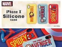 Marvel Series Silicone Case for iPhone X
