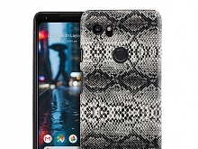 Google Pixel 2 XL Faux Snake Skin Back Case