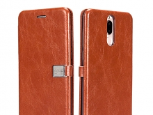 LENUO Leather Flip Case for Huawei Mate 10 Lite