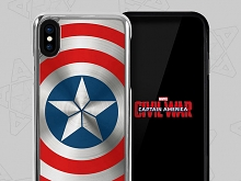 MARVEL Captain America Shield Case for iPhone X