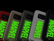 MARVEL Logo i-Slide Glow Case for Samsung Galaxy S8