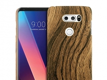 LG V30 Woody Patterned Back Case