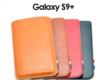 Samsung Galaxy S9+ Leather Sleeve