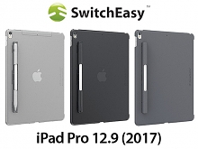 SwitchEasy CoverBuddy Pencil Holder Back Case for iPad Pro 12.9 (2017) with A10X Fusion