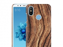 Xiaomi Mi A2 (Mi 6X) Woody Patterned Back Case