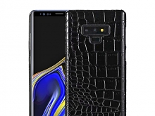 Samsung Galaxy Note9 Crocodile Leather Back Case
