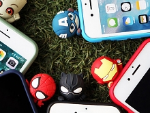 3D Marvel Series Silicone Case for iPhone XS Max (6.5)