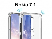 Imak Shockproof TPU Soft Case for Nokia 7.1
