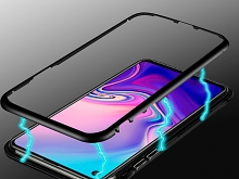 Samsung Galaxy A8s Magnetic Aluminum Case with Tempered Glass