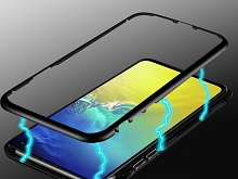 Samsung Galaxy S10e Magnetic Aluminum Case with Tempered Glass